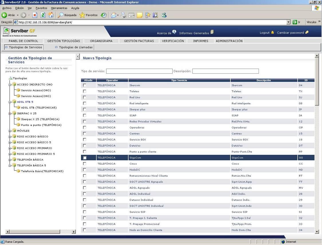 Serviber Gf Invoice Inventory Management For Telecom